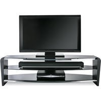 Alphason FRN1400/3BLK/BK Francium 1400 Black TV Stand
