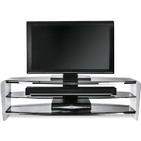 "Alphason FRN1400/3WHT/SK Francium TV Stand for up to 60"" TVs - White"
