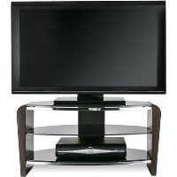 "Alphason FRN800/3-W Francium TV Stand for up to 37"" TVs - Walnut"