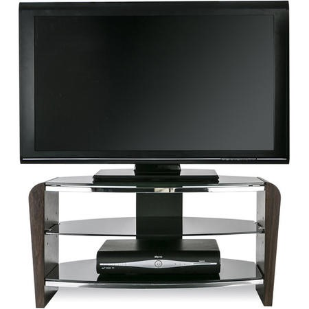 "FRN800/3-W Alphason FRN800/3-W Francium TV Stand for up to 37"" TVs - Walnut"