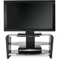 "Alphason FRN800/3BLK/BK Francium TV Stand for up to 37"" TVs - Black"