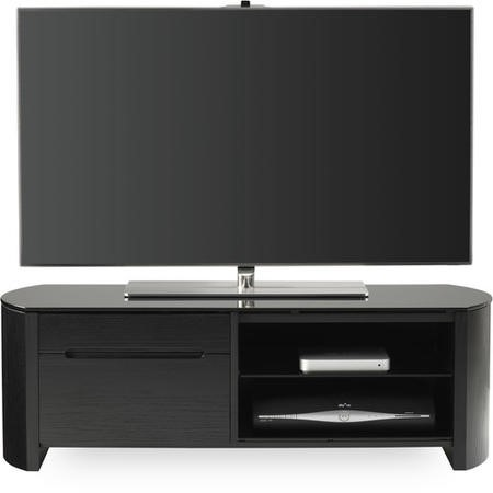 "Alphason FW1100CB-BLK Finewoods TV Stand for up to 50"" TVs - Black"