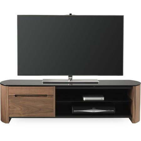 "Alphason FW1350CB-W Finewoods TV Stand for up to 60"" TVs - Walnut"