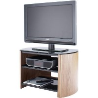 "Alphason FW750-LO/B Finewoods TV Stand for up to 37"" TVs - Light Oak"