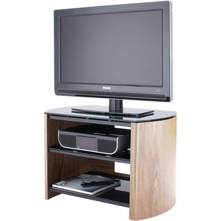 "FW750-LO/B Alphason FW750-LO/B Finewoods TV Stand for up to 37"" TVs - Light Oak"