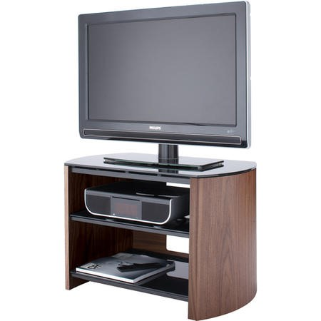 "FW750-W/B Alphason FW750-W/B Finewoods 3 Shelf TV Stand for up to 32"" TVs - Walnut"