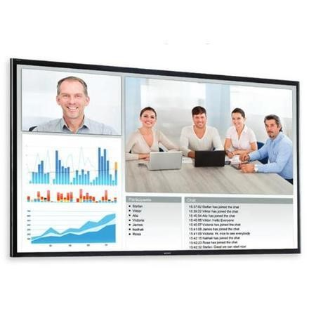 "65"" Black LED Large Format Display, Full HD, 17/7 Operation"