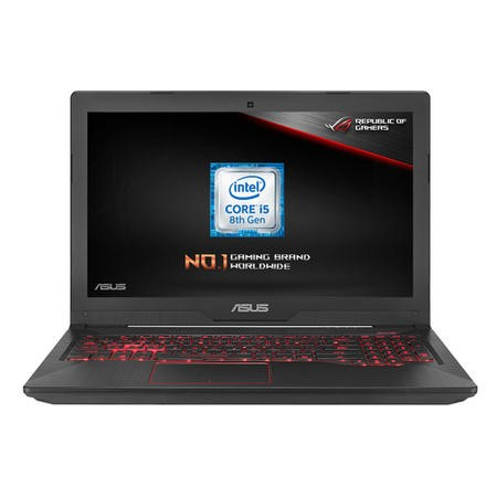 FX504GD-E4603T Asus TUF FX504GD Core i5-8300H 8GB 1TB 8GB Optane 15.6 Inch GeForce GTX 1050 2GB Windows 10 Gaming Laptop