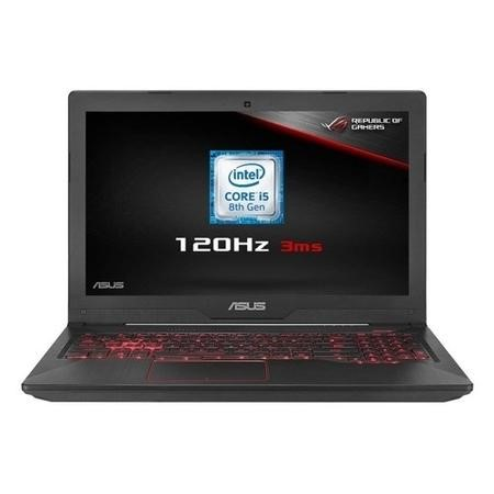 Asus FX504 Core I5-8300H 8GB 256GB + 1TB GeForce GTX 1060 15.6 Inch Windows 10 Gaming Laptop With Bag & Mouse