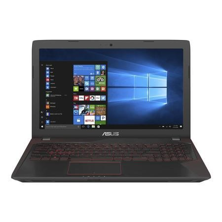FX553VD-DM628T ASUS FX553VD Core i7-700HQ 8GB 1TB + 128GB SSD GeForce GTX 1050 4GB DVD-RW 15.6 Inch Full HD Windows 10 Gaming Laptop