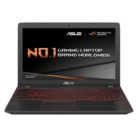 77418228/1/FX753VD-GC007T GRADE A1 - Asus FX753VD Core i7-7700HQ 8GB 1TB 128GB SSD GeForce GTX 1050 4GB 17.3 Inch Full HD Windows 10 Home Gaming Laptop