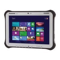 Panasonic Toughpad FZ-G1 Core i5-6300U 2.4 GHz 4GB 128GB SSD 4G 10.1 Inch Windows 10 Professional Tablet