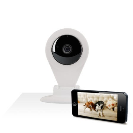 Wireless Wi-Fi Pet & Security Camera with Two-Way Talk Functionality