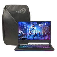 Asus ROG G531GU Core i7-9750 8GB 512GB SSD 15.6 Inch GeForce GTX 1660Ti Windows 10 Gaming Laptop + ROG Backpack