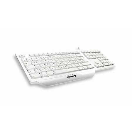 Cherry Initial Mac White multimedia keyboard USB