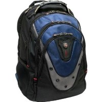 "Wenger Swissgear Ibex Laptop Backpack - Laptops up to 17""  Blue"