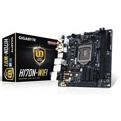 Gigabyte GA-H170N-WIFI Intel H170 Express Chipset also supports Core i7/i5/i3/Pentium & Celeron  Socket 1151 2 x DDR4  Mini-ITX Motherboard
