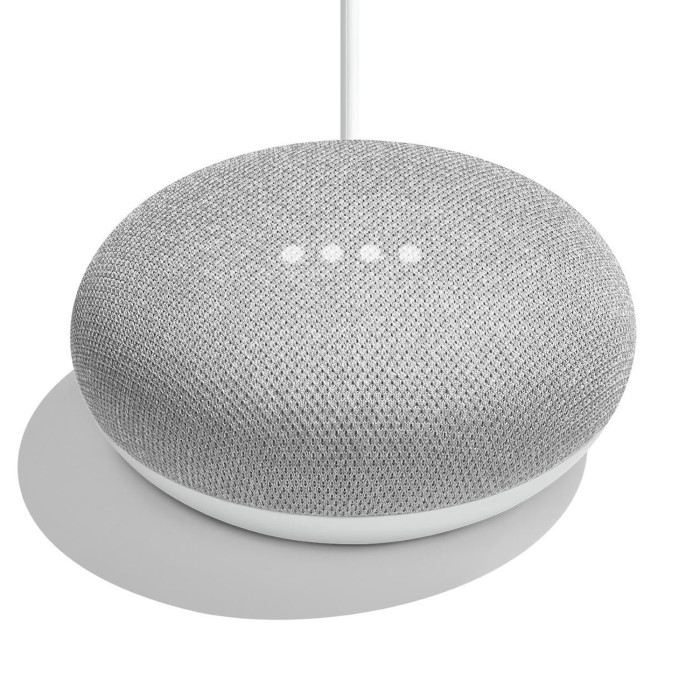 Google Home Mini Smart Speaker Chalk Laptops Direct