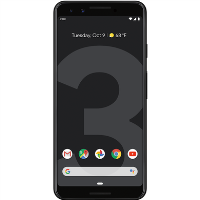 "Grade B Google Pixel 3 Just Black 5.5"" 64GB 4G Unlocked & SIM Free"