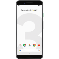 "GRADE A1 - Google Pixel 3 Clearly White 5.5"" 64GB 4G Unlocked & SIM Free"