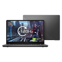 Refurbished Asus ROG Zephyrus AMD Ryzen 7-4800H 16GB 512GB GTX 1660Ti Max-Q 14 Inch Windows 10 Gaming Laptop