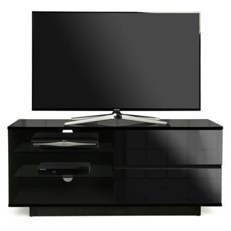MDA Designs Gallus TV Cabinet in Black High Gloss - up to 55 inch
