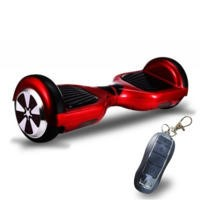 GRADE A1 - G-Board Smart Two Wheel Self Balancing Hover Scooter - Red - With Remote Lock & Training Mode