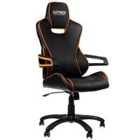Nitro Concepts E200 Race Series Gaming Chair - Black/Orange