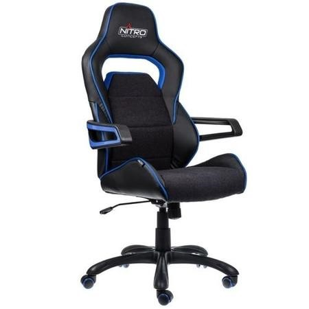 Nitro Concepts E220 Evo Series Gaming Chair - Black/Blue