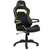 Nitro Concepts E220 Evo Series Gaming Chair - Black/Green