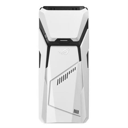 GRADE A2 - Asus GD30 Core i5-7400 16GB 2TB + 256GB SSD GeForce GTX 1070 Windows 10 Gaming Desktop in Black and White