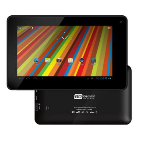 Refurbished Grade A1 Gemini Duo 7 AV Cortex A9 Dual Core 1GB 16GB 7 inch Android 4.1 Jelly Bean Tablet in Black - GEM7030