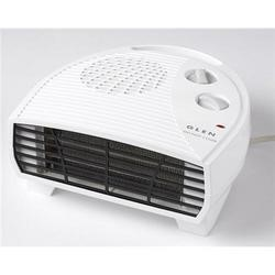 Glen GF30TSN 3kw Flat Fan Heater 2 Heat Settings And Thermostat