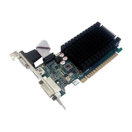 PNY GeForce GT 710 - Graphics card - GF GT 710 - 2 GB DDR3 - PCIe 2.0 x8 low profile - DVI D-Sub HDMI