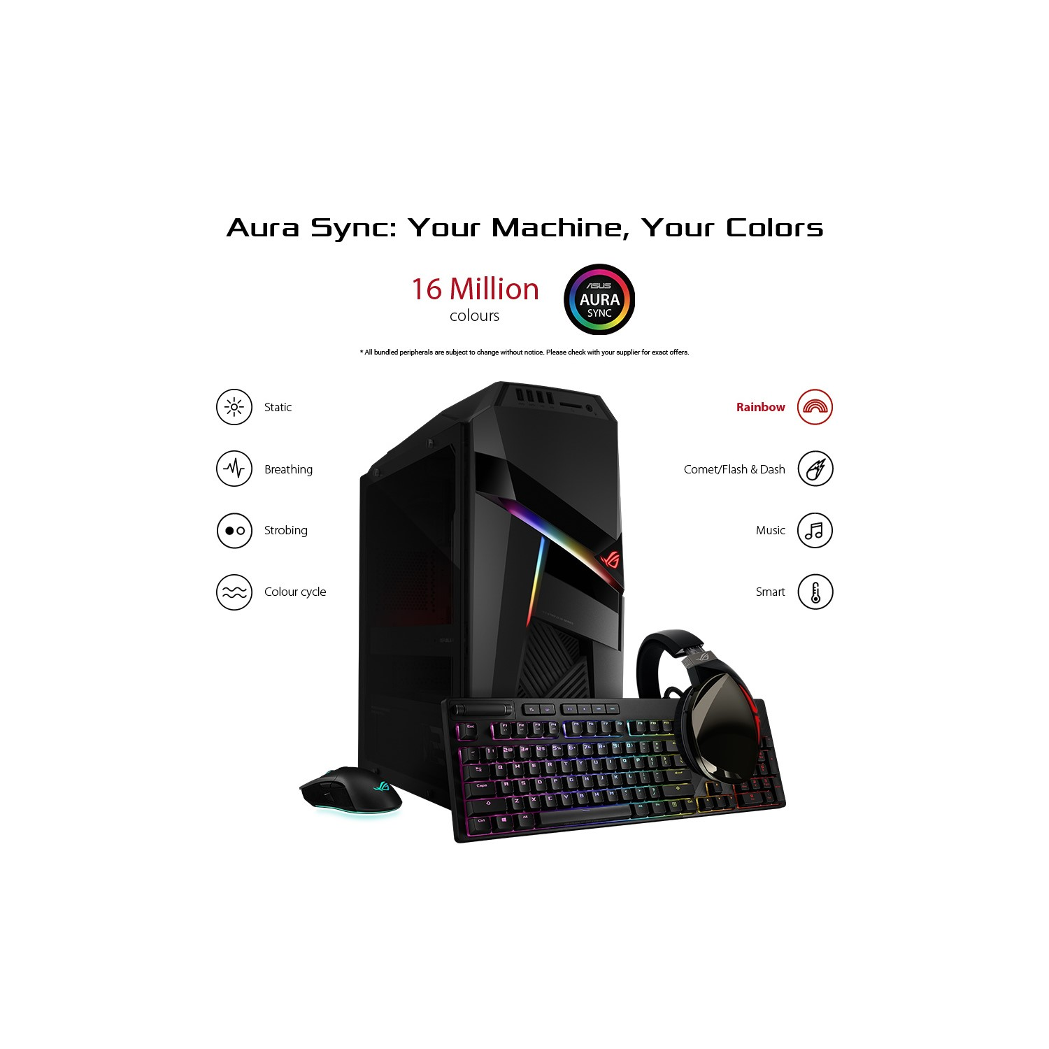 Asus ROG Strix GL12 Core i9-9900K 32GB 1TB + 512GB GeForce RTX 2080 8GB  Windows 10 Pro Gaming PC