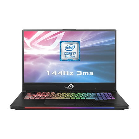 GL704GM-EV001T ASUS ROG STRIX SCAR II GL704GM-EV001T Core I7-8750H 16GB 1TB & 256GB GeForce GTX 1060 17.3 Inch 144Hz FHD Gaming Laptop