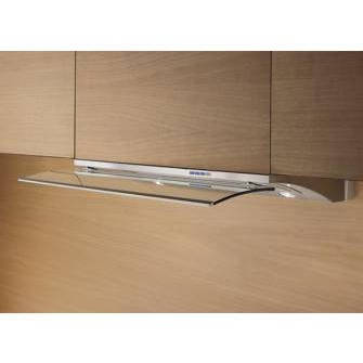 Elica GLIDE60 Decorative 60cm Built-in Cooker Hood With Telescopic Glass Panel