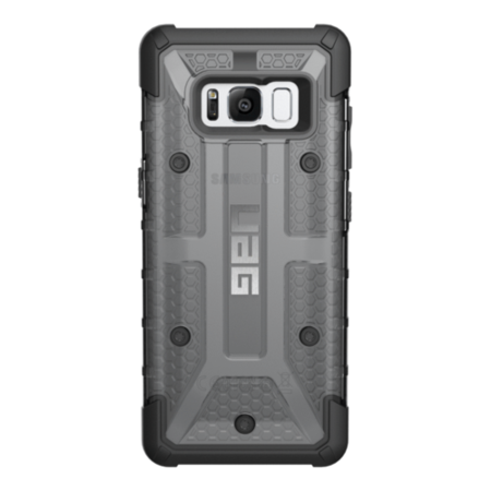 GLXS8-L-AS UAG Samsung Galaxy S8 Plasma Case - Ash/Black