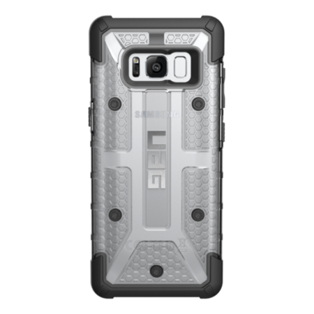 GLXS8-L-IC Galaxy S8 Plasma Case - Ice/Black