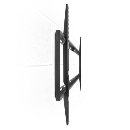 Super Slim Flat to Wall TV Bracket with Spirit Level for TVs 32 - 70 inch - 45KG Load - Universal vesa up to 600 x 400mm
