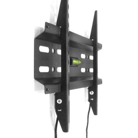 Flat to Wall TV Bracket with Spirit Level for TVs up to 32 inch - 30KG Load - Universal vesa up to 200 x 200mm