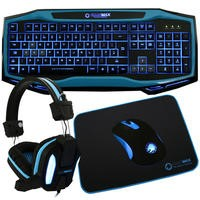 GameMax Raptor PC Gaming Bundle - Blue