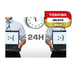 Toshiba 4 Years Gold Next Business Day On-Site Service Including Warranty Extension