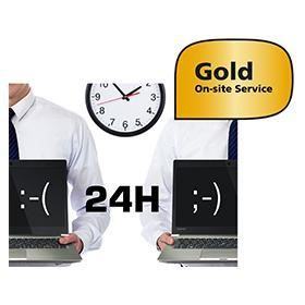 Toshiba 5 Years GOLD Next Business Day On-site Service including Warranty Extension