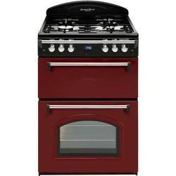 Leisure GRB6GVR Heritage Double Oven 60cm Gas Cooker - Red