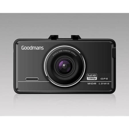 Goodmans Car Dash Camcorder Full HD with GPS Tracking