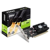 GRADE A1 - MSI Active GeForce GT 1030 2GB GDDR5 Low Profile OC Graphics Card