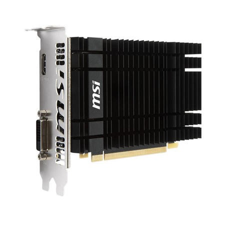 MSI Passive 2GH GeForce GT 1030 2GB GDDR5 OC Graphics Card