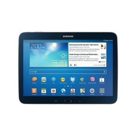 Refurbished Grade A1 Samsung Galaxy Tab 3 Dual Core 1GB 16GB 10.1 inch Android 4.2 Jelly Bean Tablet in Black