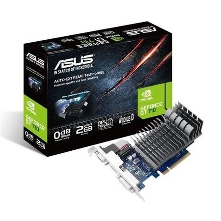 GT710-2-SL ASUS GeForce GT 710 2GB DDR3 Graphics Card